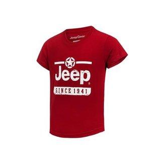 c392615cf3 Camiseta Infantil Jeep Estrela Since