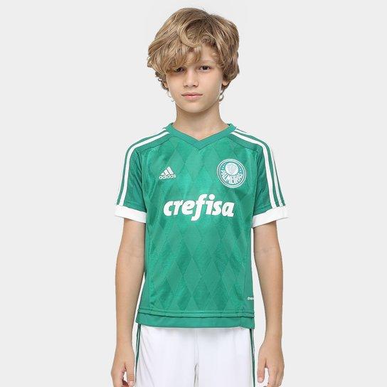 Camisa Palmeiras Infantil I 15 16 s nº Torcedor Adidas - Compre ... f329bf5b21b48