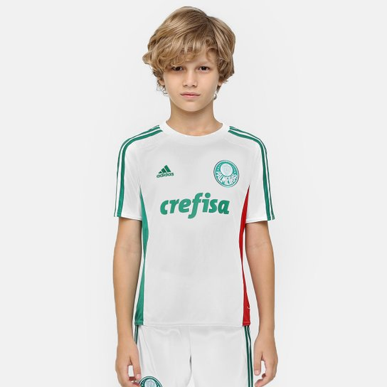 Camisa Palmeiras Infantil II 15 16 s nº - Torcedor Adidas - Compre ... 8c66a8aec345f