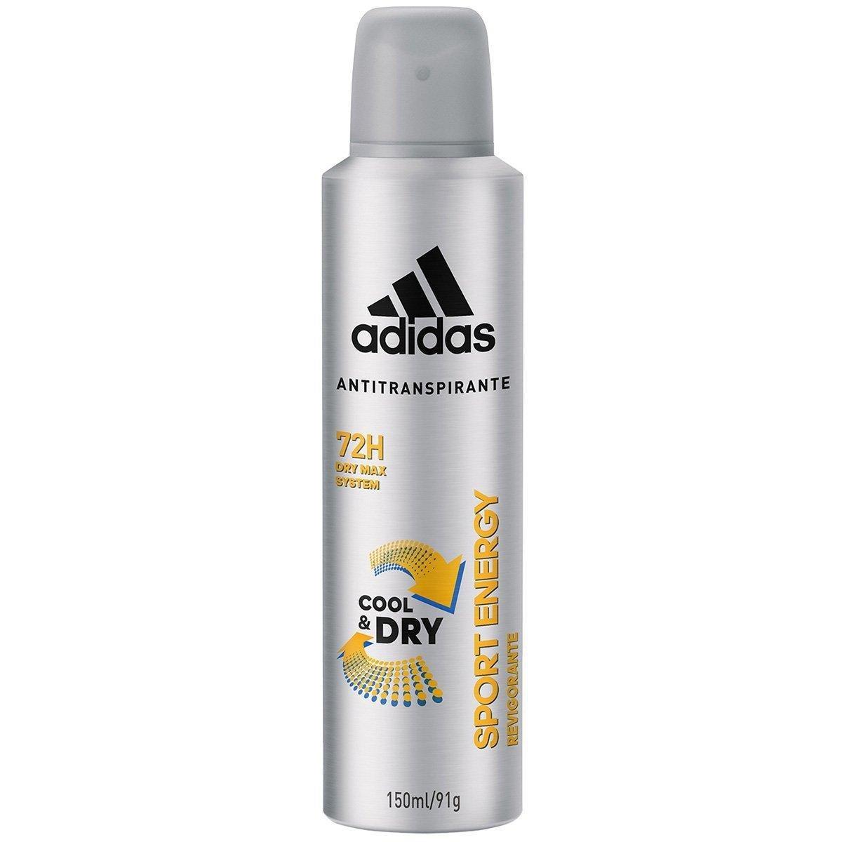 Desodorante Adidas Cool & Care Sport Energy Aerosol Masculino 150ml