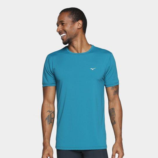 6cecba7358 Camiseta Mizuno Run Tech Com Proteção UV Masculina - Compre Agora ...