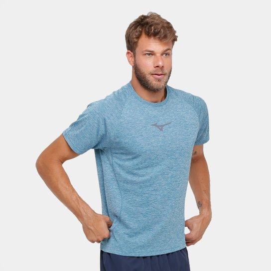 a01ddfc4a4 Camiseta Mizuno Synchro 2.0 Masculina - Azul Claro - Compre Agora ...