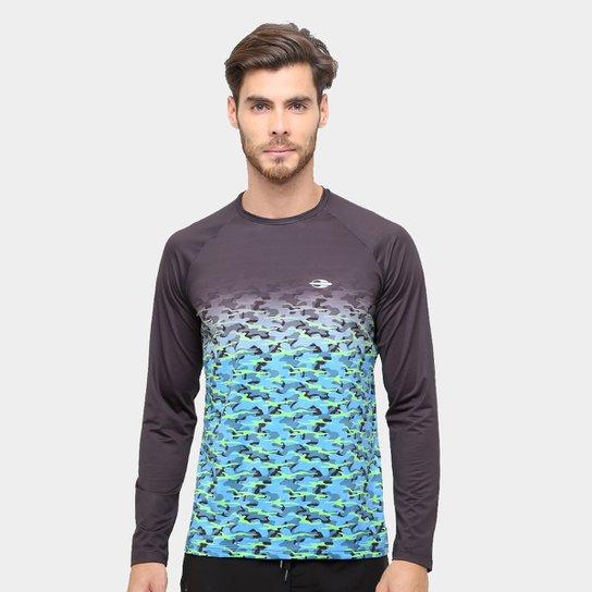 Camiseta Surf Mormaii Proteção UV 50+ Masculina - Compre Agora   Zattini ef7fca30b6