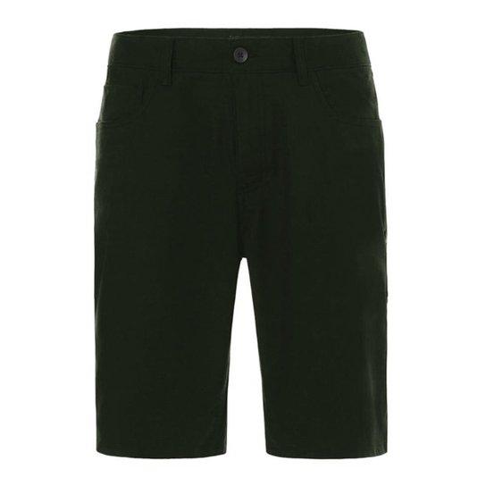 fce556a8f4aa5 Bermuda Oakley Walk 5 Pockets Dark Brush Masculino - Verde - Compre ...