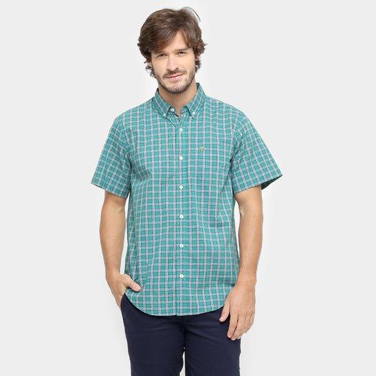 801bb3960b7d1 Camisa Lacoste Xadrez Regular Fit Bolso - Compre Agora