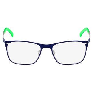 2ecd2a02357d7 Armação Óculos de Grau Lacoste L2220 424 52