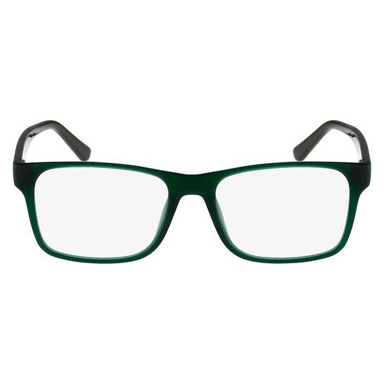 f35bfcba0429b Armação Óculos de Grau Lacoste L2741 315 53 - Verde - Compre Agora ...