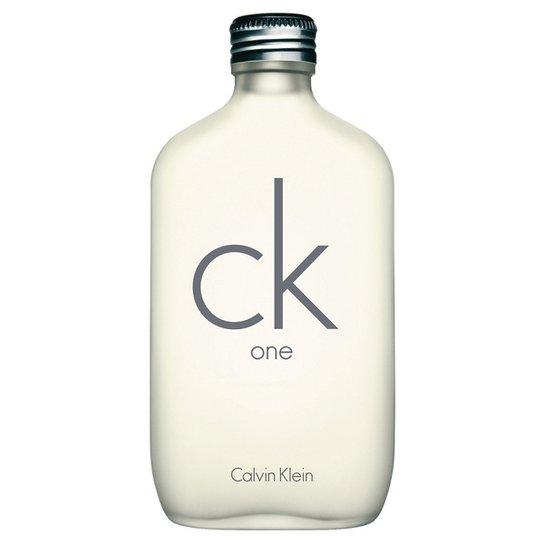 61931f23bb5 Perfume Calvin Klein Unissex CK One EDT 100ml - Incolor - Compre ...