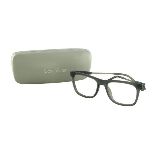 3dc513cd47371 Óculos de Grau CALVIN KLEIN Casual - Verde - Compre Agora   Zattini