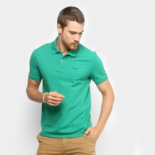 a6093c83c Camisa Polo Calvin Klein Slim Masculina | Zattini