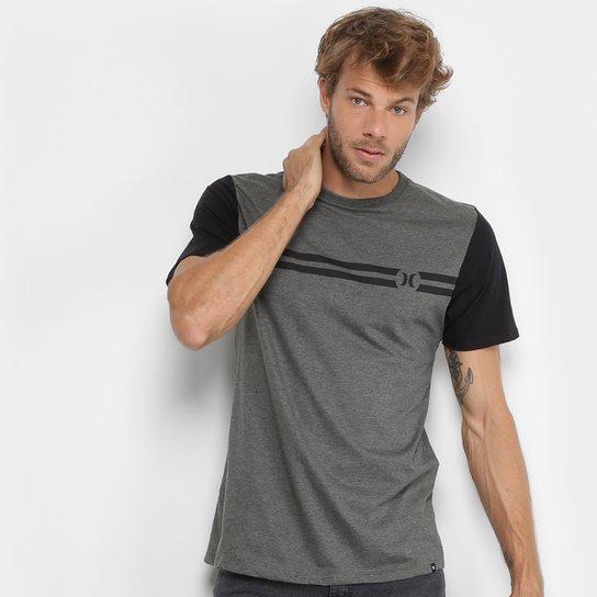 6d7b690470df8 Camiseta Hurley Block Party Masculina - Compre Agora