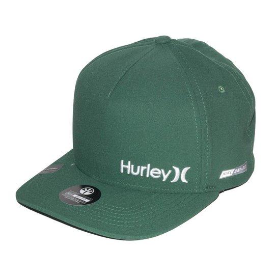 Boné Hurley Dri-Fit - Verde - Compre Agora  485679b6b50