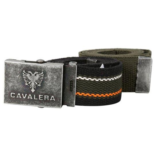 9b86dfde5f7 Kit Cinto Cavalera Listrado - Compre Agora