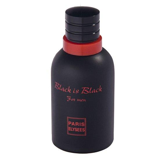 bd067b140 Black Is Black Paris Elysees - Perfume Masculino - Eau de Toilette 100ml -  Incolor