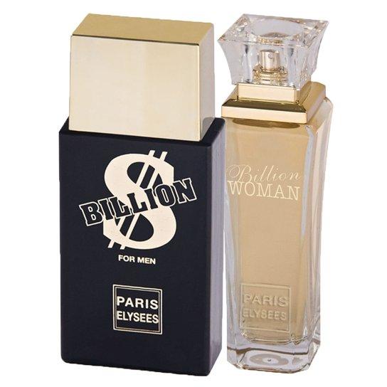 Billion Paris Elysees - Unissex - Eau de Toilette - Kits de Perfumes Kit -  Incolor aca784710c4