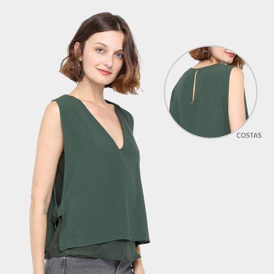 9aac9220c Blusa Colcci Sobreposta Fenda Feminina - Compre Agora | Zattini