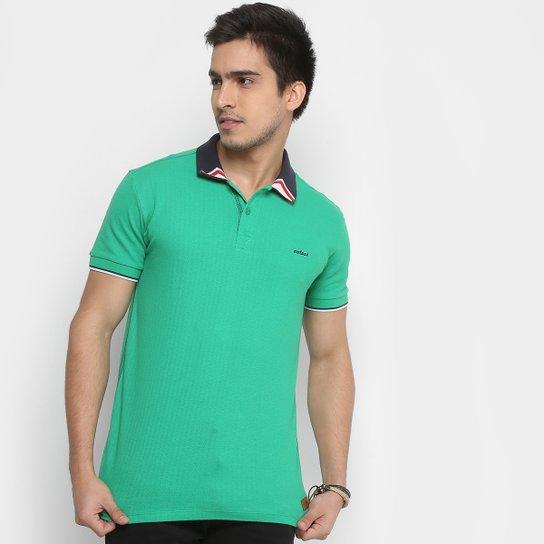 daa0d3134 Camisa Polo Colcci Listras Gola Masculina - Verde - Compre Agora ...