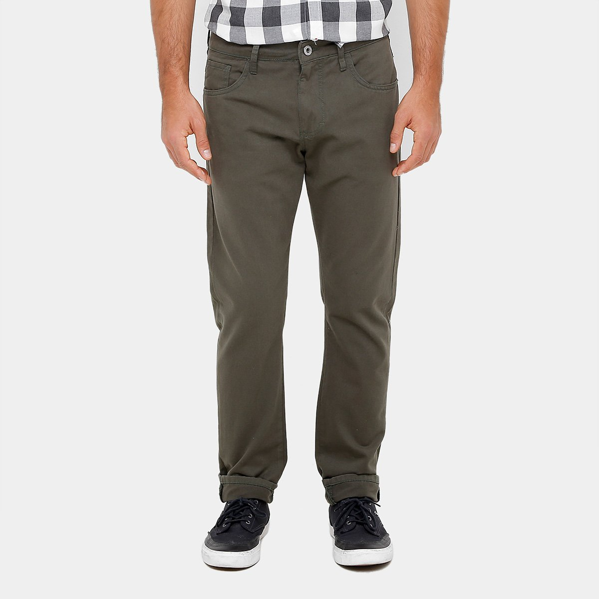 Calça Slim Forum Paul Color Masculina