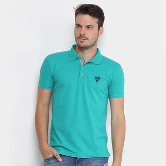 972500d489 Camisa Polo Opera Rock Piquet Logo Bordado Masculina