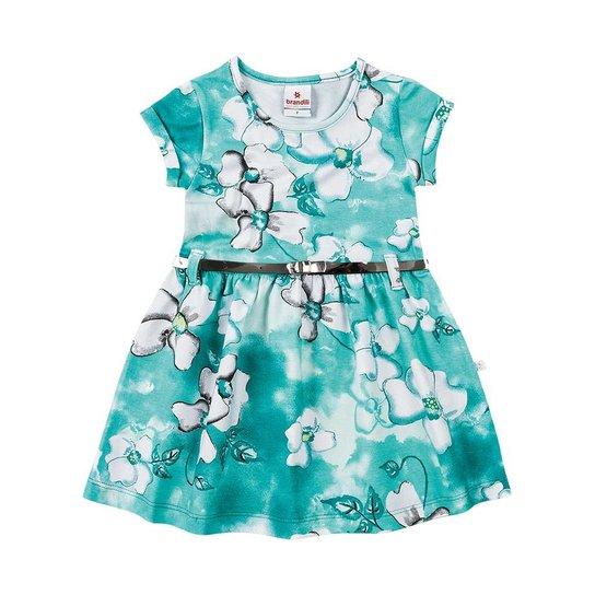 d7067dbcf6 Vestido Infantil Brandili Watercolor - Compre Agora
