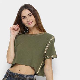883e6c2ea15 Camiseta Lança Perfume Cropped Estonada Feminina