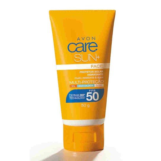 0233b8312 Protetor Solar Facial Avon Care Sun+ FPS 50 50g - Compre Agora