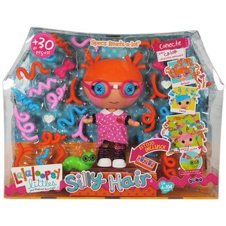 aee89bd158 Boneca Lalaloopsy Littles - Silly Hair Specs Reads-a-Lot - Buba