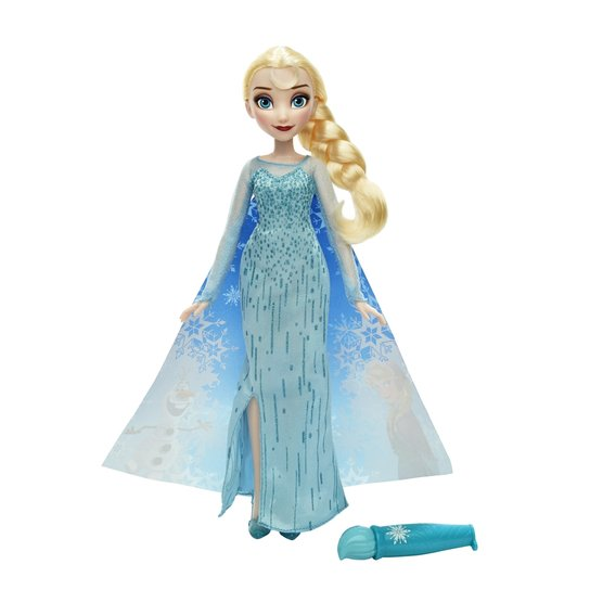 2aa4a792fb Boneca Articulada - Disney Frozen - Vestidos Mágicos - Rainha Elsa - Hasbro  - Incolor
