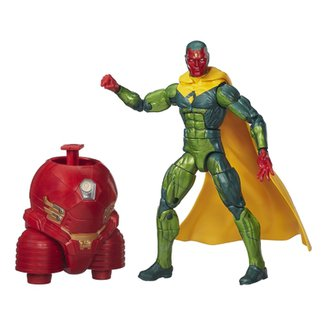 Boneco Marvel Legends Infinite Series - Build a Figure - Avengers - Vision  - Hasbro df1dd6bd6c9