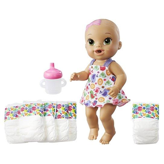 7dffc088aa Boneca e Acessórios - Baby Alive - Loirinha - Hora do Xixi - C4324 - Hasbro