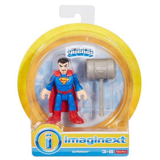 0d5e437061 Mini Figura de Ação - DC Comics - Imaginext - Superman com Acessórios 15 Cm  -