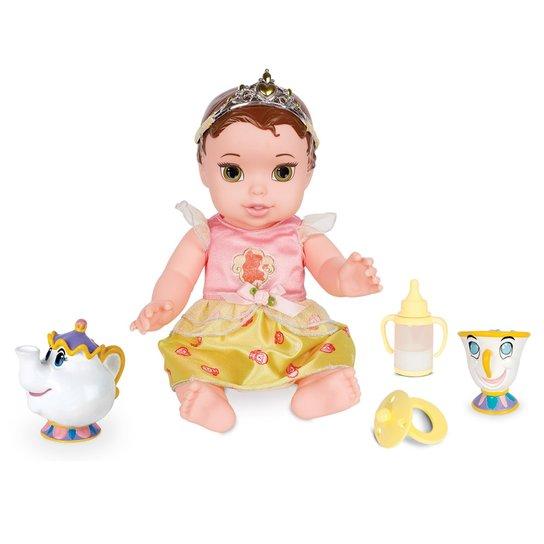 2116bdb277444 Boneca Baby com Acessórios - Princesas Disney - A Bela e a Fera - Bela -