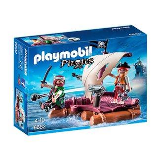 0ae9575ba3 Playmobil - Pirates - Jangada com Piratas - 6682 - Sunny