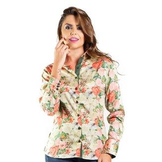 7a1e0979d Camisa Carlos Brusman Feminina Slim