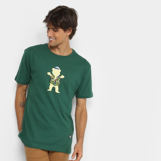 Camiseta Grizzly Big Kahuna Og Bear Tee Masculina - Compre Agora ... fbf1e3ac741