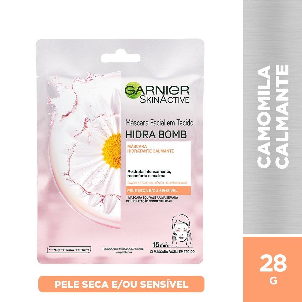 Máscara Facial Calmante Garnier Skin - 28g