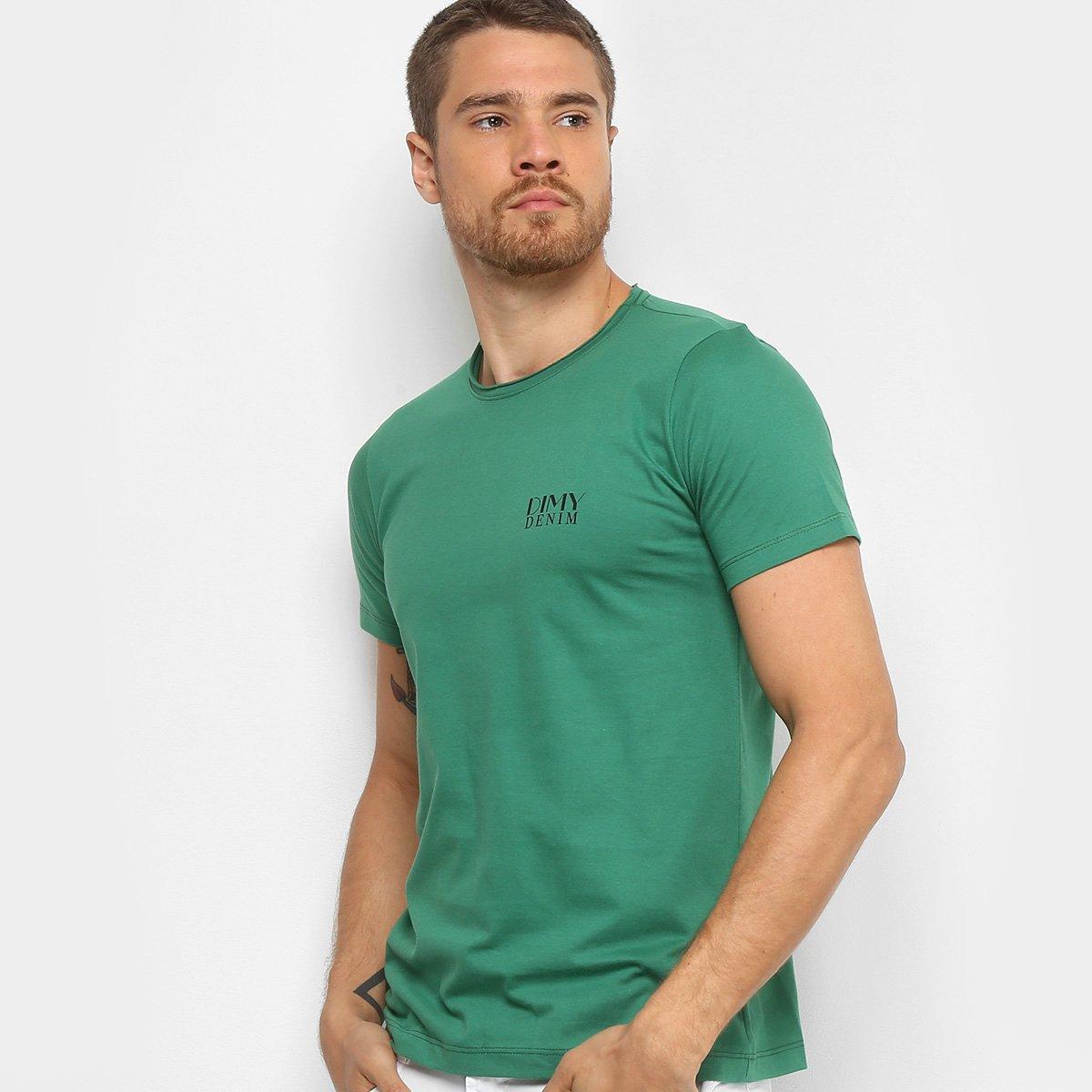 cc125418a Camiseta Dimy Clássica Masculina