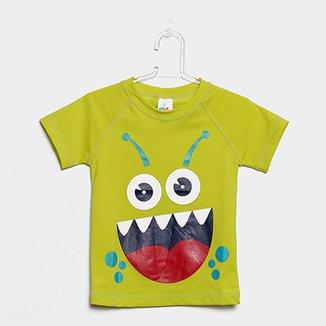 1ca2241945 Camiseta Infantil Tip Top Moda Praia FPS +50 Masculina