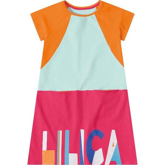 aaf420d456 Vestido Infantil Lilica Ripilica - Verde - Compre Agora