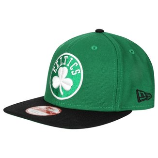 Boné New Era 950 Of Sn NBA Two Tone Boston Celtics 63057e04e87