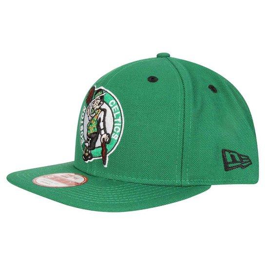Boné New Era 950 Of Sn NBA Boston Celtics - Verde - Compre Agora ... 551a7775b0a