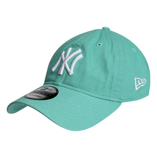 Boné New Era MLB New York Yankees Aba Curva 920 St Pastels - Compre ... d764dcc9877