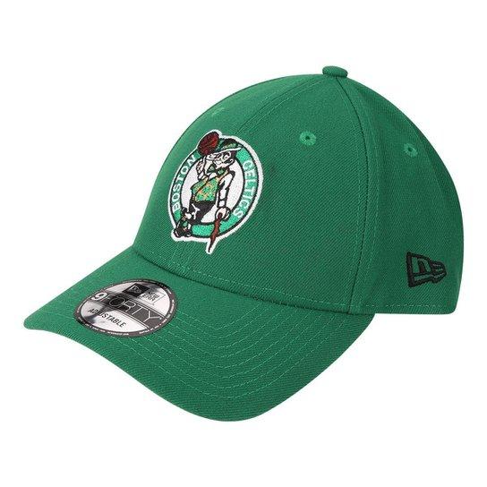 f76e82158e875 Boné New Era NBA Boston Celtics Aba Curva Primary - Verde - Compre ...