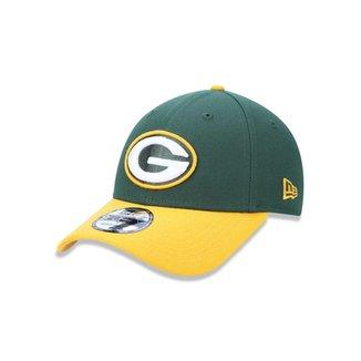 Boné 940 Green Bay Packers NFL Aba Curva New Era b72f6f34c18