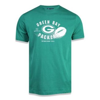 Camiseta Green Bay Packers NFL New Era Masculina 67fd4146a60
