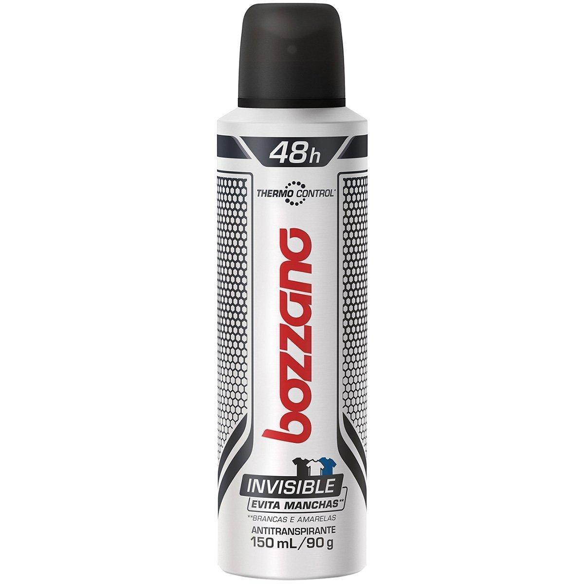 Desodorante Bozzano Invisible Aerosol 150ml