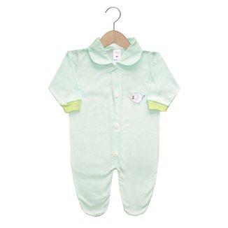 Macacão Longo Zupt Baby Liso Bebê 1f07b74d329