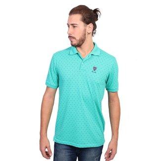 2276a3e3c9 Camisa Polo New York Polo Club Full Print