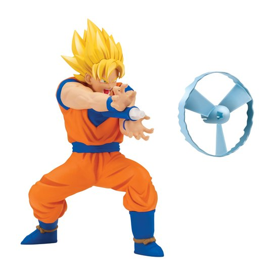 964aaed9322dbb Boneco com Mecanismo e Lançador - Dragon Ball Super - Goku Super Sayajin -  Brinquedos Chocolate - Incolor