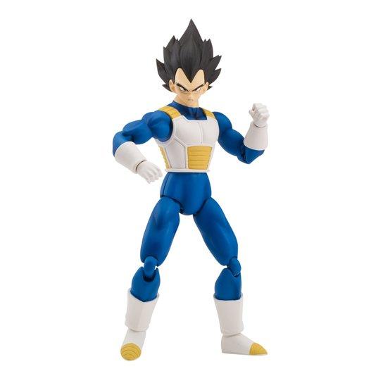 ee1b80419c4137 Boneco Articulado - Dragon Ball Super - com Peça Colecionável - Vegeta -  Brinquedos Chocolate - Incolor